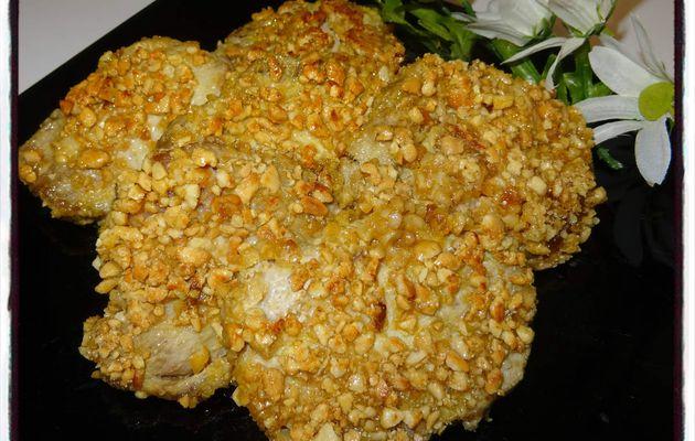 Rôti de porc aux cacahuètes