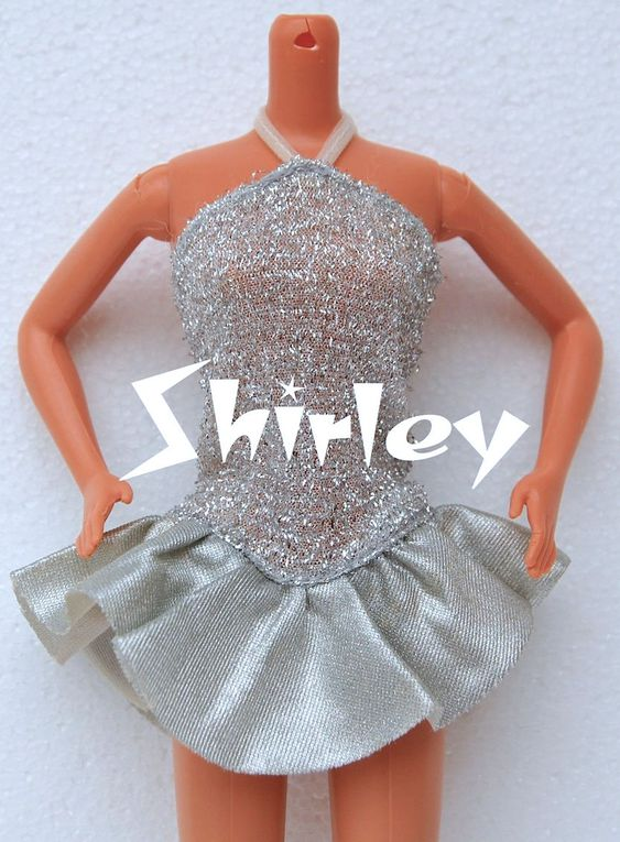 """JEWEL SECRETS"" BARBIE DOLL CLOTHES 1986 MATTEL #1737"