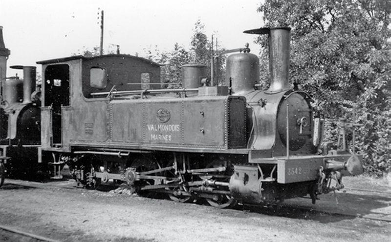 Le Petit Train de la Vallée du Sausseron (Valmondois à Marines)