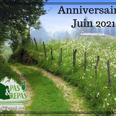 ANNIVERSAIRES Juin 2021