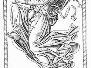 D'après Mantegna - Tarot - Burin 1991/1993