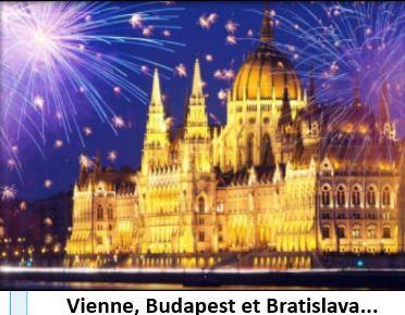 Nouvel An Danubien ! 6 jours / 5 nuits du 28 décembre 2022 au 3 janvier 2023.....