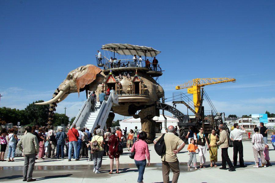 Les Machines de l'Ile de Nantes Royal de Luxe