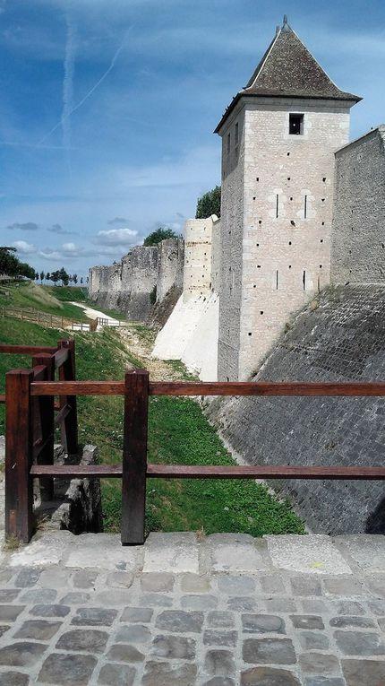 Les remparts et portes fortifiées. L'enceinte de la ville haute, longue de 1200 mètres et comportant 22 tours      aux géométries variées, fut construite de 1226 à 1314. Elle reste aujourd'hui la partie la mieux préservée.