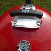 Mon barbecue Master Touch Weber  et sa facilité d'utilisation