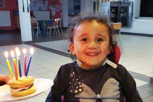 Pâtisserie + anniversaire = Eden Burger...
