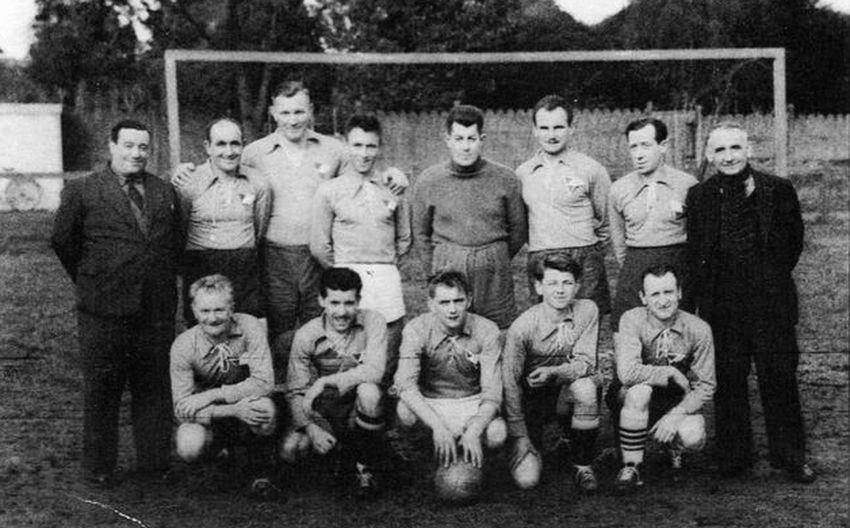 Equipe de Football des Ets Cappelle.