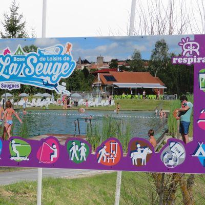 La Base de Loisirs de la Seuge / Balade à Saugues en Haute-Loire