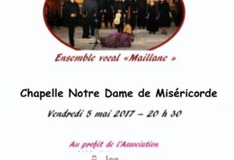 CONCERT DE L'ENSEMBLE MAILLANE