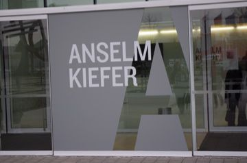 Würth avec Anselm Kiefer ou l'art contemporain