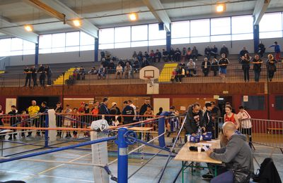 Groupement de boxe à Algrange en 2015