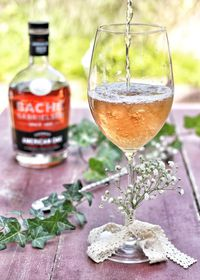 Cocktail Les Beaux Jours, cocktail à base de Cognac American Oak de la Maison Bache-Gabrielsen