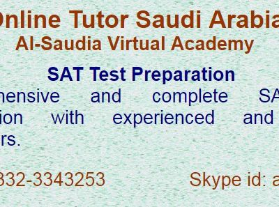 SAT online preparation Academy Saudi Arabia