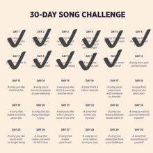 DEFI 30 jours de chansons francophones - Jour 12