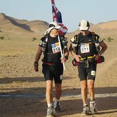 Ranulph Fiennes 'overtaking people a quarter his age' in Marathon des Sables