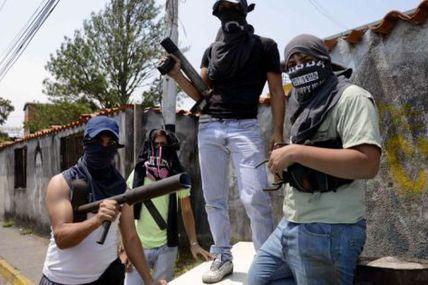 """#Venezuela Ce que les USA versent aux """"sociétés civiles""""...ou comment le Monde invente la répression pré-guerre civile"""