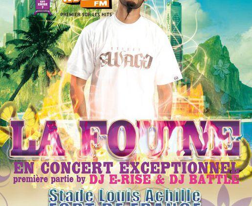 CONCERT DE LA FOUINE EN MARTINIQUE LE 27 JUIN 2010
