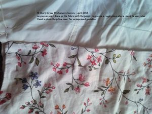 DIY: shirt into pillow case
