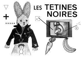 les tétines noires, un groupe de musique industrielle français aux influences christian death et bauhaus et signé chez BOUCHERIE PRODUCTIONS