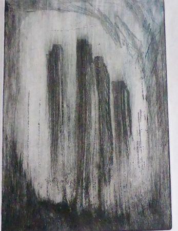 gravure/crayon