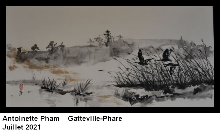 Gatteville-Phare, trois exposants