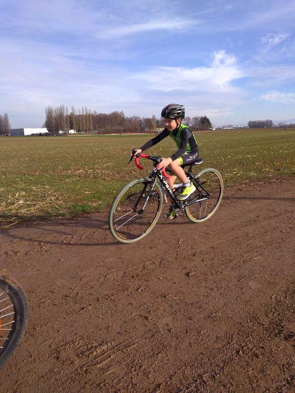 Bike & Run Oberhausbergen 2018 : pas de boue.