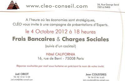 Présentation d'expertises CLEO à PARIS