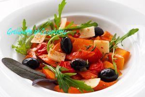 Wok de Potimarron à l'Italienne, au Parmigiano Reggiano