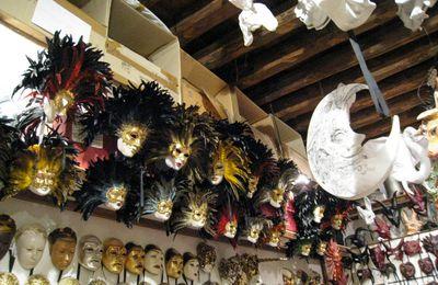 Boutique de masques à Venise