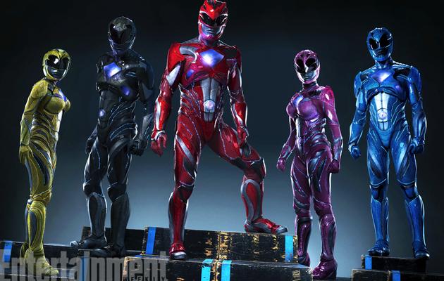Les Power Rangers dévoilent leur nouveau costume