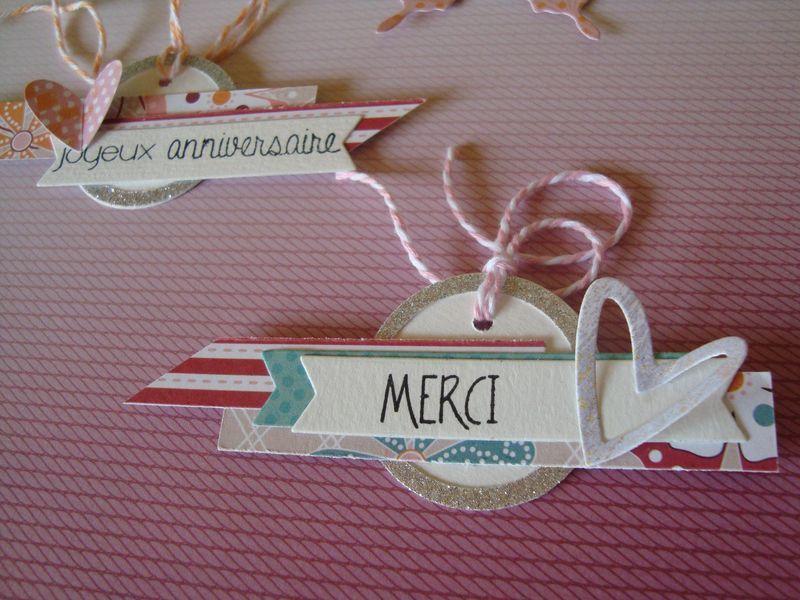 Etiquettes pour cadeaux