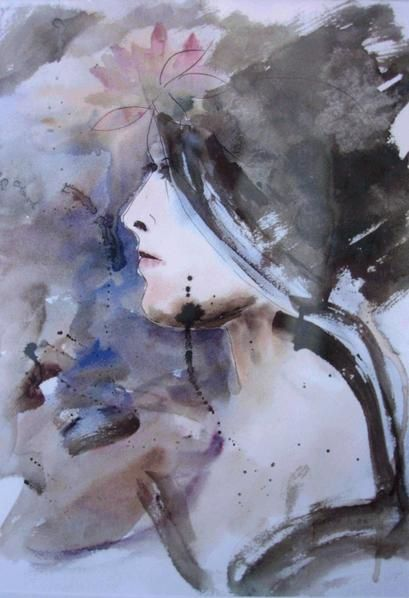 Album - aquarelles figuratif