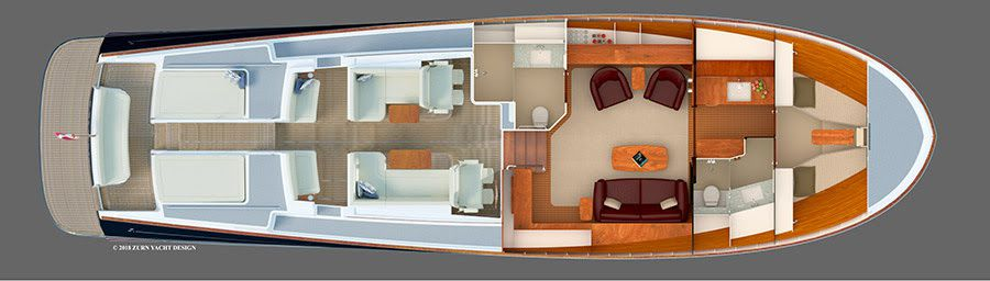 Zurn Yacht Design announces new 19m Lynx Commuter