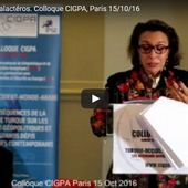 "INTERVENTION Caroline Galactéros : COLLOQUE CIGPA "" TURQUIE-OCCIDENT-MONDE-ARABE "" - CIGPA"
