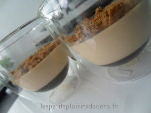 PANACOTTAS CROUSTILLANTES AU CAFE