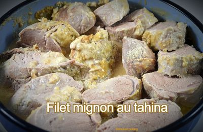 Filet mignon au tahina