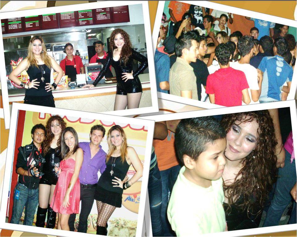 Sherry Sheyla en Comayagua en gran Concierto