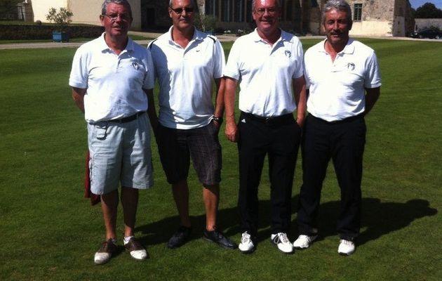 Qualifications Jacques Foussier au golf de Vitré