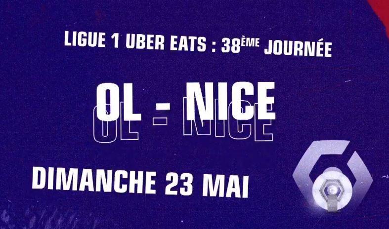 Lyon / Nice : Sur quelle chaîne suivre la rencontre dimanche ?