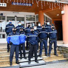 Allos- La Foux, La gendarmerie en place pour la saison.