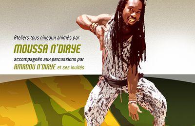 18 octobre : stage de danses Sabar à la MPT de Penhars  avec l' Association Na Dòn Kè