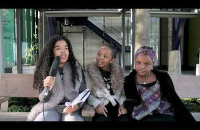 Meet Elsa interviewing kidpreneurs Kemi and Kiisha, CEOs of KishemWorld