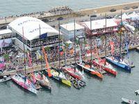 Volvo Ocean Race - les photos du départ d'Alicante