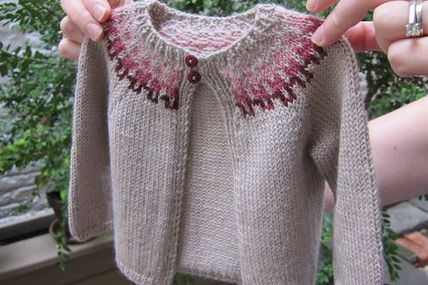 Baby Sweater made fr