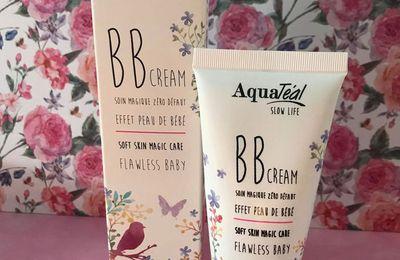 Une peau hydratée, maquiller et raviver grâce à la BB Cream de chez Aquatéal !