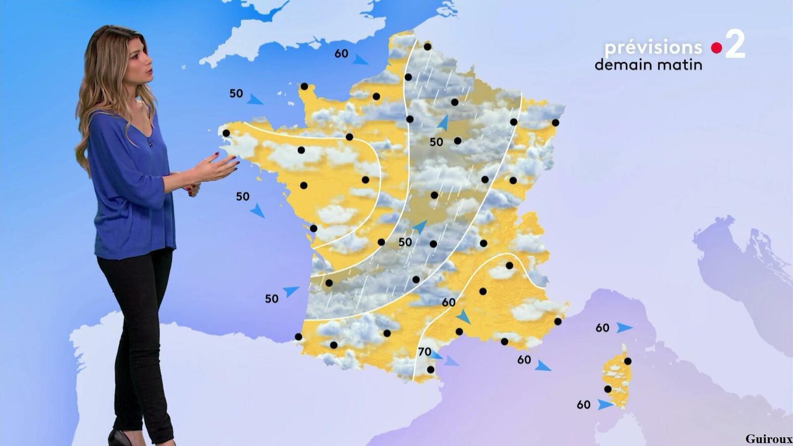 Chloé Nabédian 28/09/2021 Journaux météo du soir