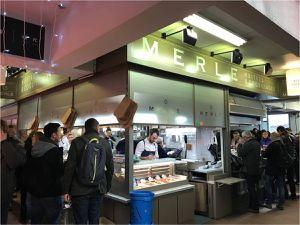 MERLE - huîtres gillardeau - Halles de Lyon