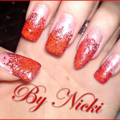- Nails mit ganz viel Glitzer ♥
