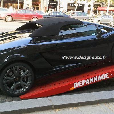 FAIL Car : une Lamborghini Gallardo Spyder emmenée à la fourrière