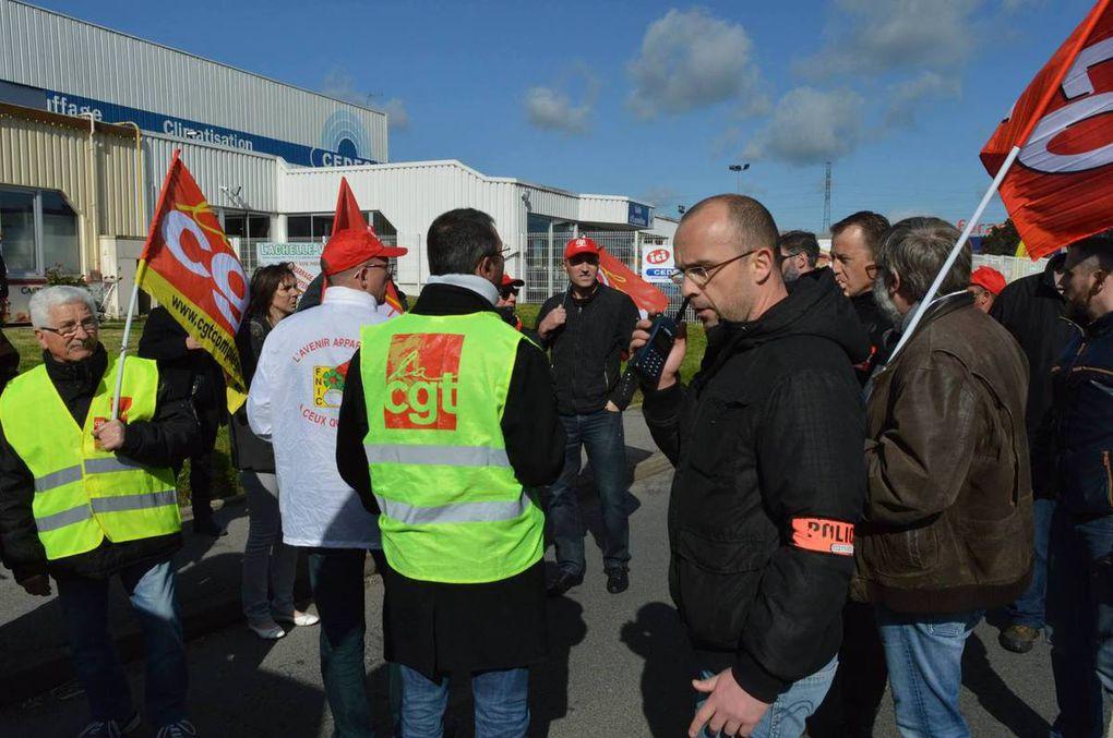 MANIFESTATION INTERDITE POUR LA VENUE DU PRESIDENT !